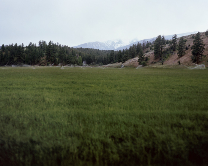 "Kristen S. Wilkins. Supplication #17 (diptych). ""It might be hard to find, but it's called Trapper Peak near the Bitterroot Valley."" From the series 'Supplication.'"
