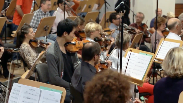 """For """"The Raven"""" we were able to record ONE piece of music with a real orchestra. With your help we could do much more!"""