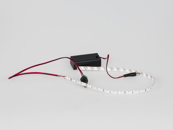 LED Light Strip and 9V Battery Box
