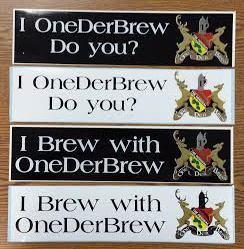 OneDerBrew™ Bumper Stickers ($10.00)