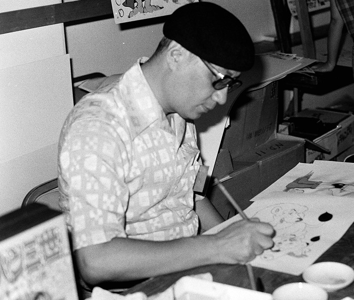Osamu Tezuka at the 1980 San Diego Comic-Con
