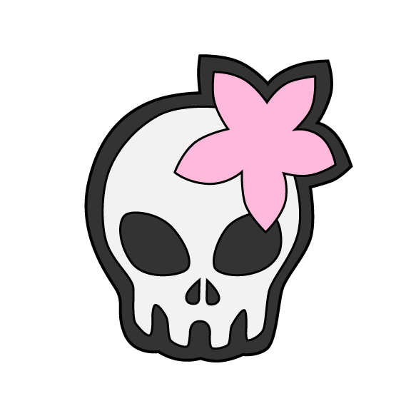 Wanda's Decrypted Skull and Flower