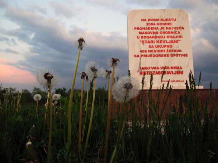 Kevljani, site of the third largest mass grave in Bosnia. Many of those killed in White House were dumped here.