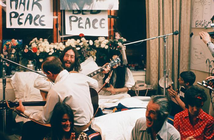 The Recording of Give Peace A Chance