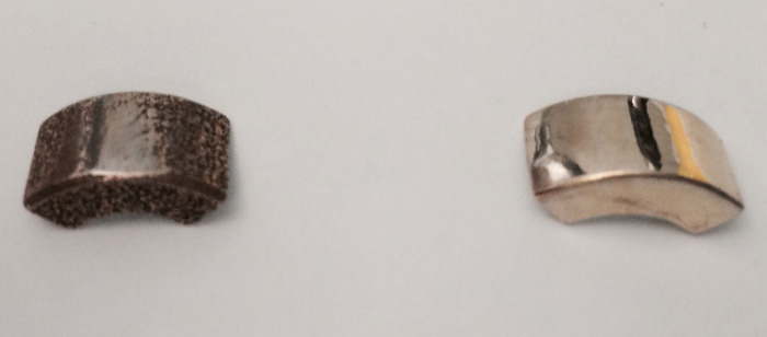The first prototypes printed by Shapeways.