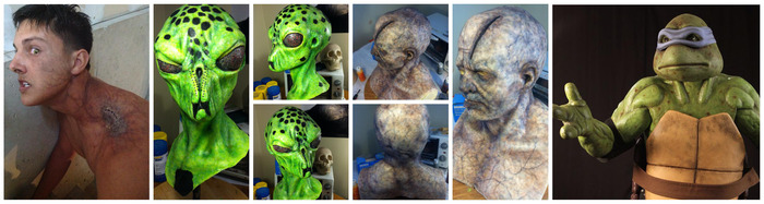 Portfolio of Mark's practical effects work