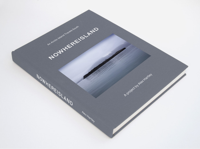 First mock-up of the Nowhereisland book