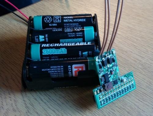 Mobile power board for the #RaspberryPi – MoPi – Raspberry