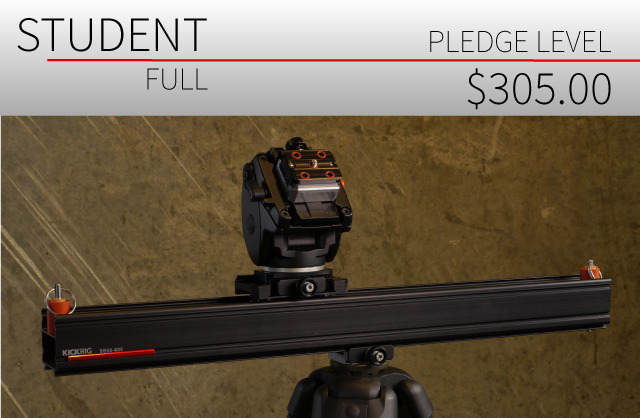 Tripod and head are not included