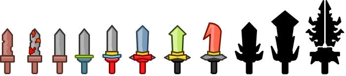 10 Levels of Swords!