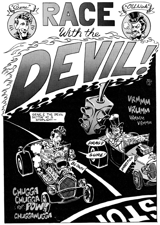 Race with the Devil by Dave Simons
