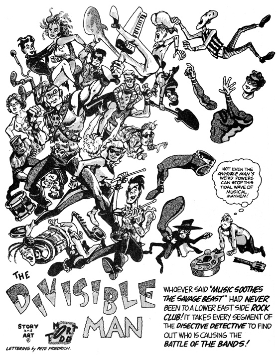The Divisible Man by Mort Todd