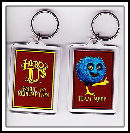 Hero-U Key Ring