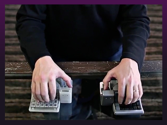 マウス 体型 キーボード 一