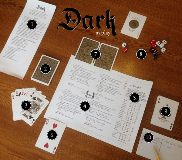 A game of Dark in play