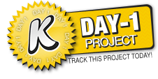 KickTraq Day 1 Badge