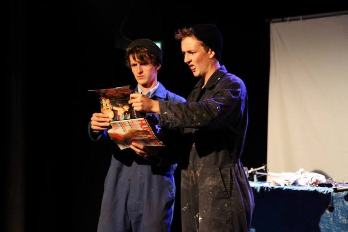 Silly Boys at Bristol Festival of Puppetry 2013. Photo credit: Farrows Creative.