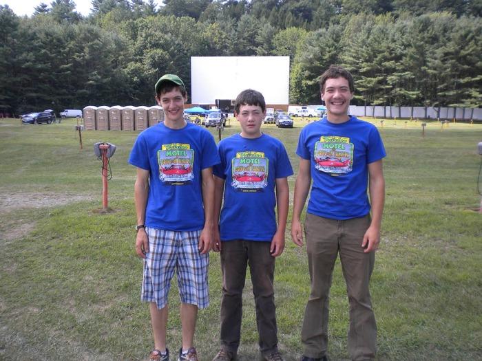 The boys (PJ, Tucker, and Cooper)