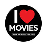"""""""I LOVE movies"""" button"""