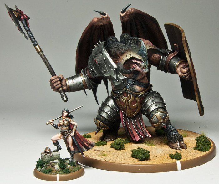 Frothers Unite! UK • View topic - Mierce Miniatures dragon