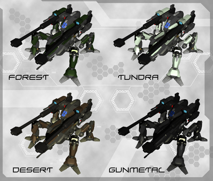 Orthrus Color Variants