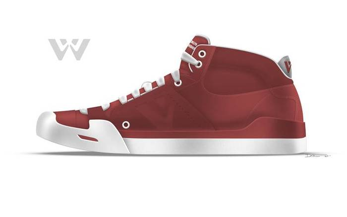 Concept Drawing (red).  Final color may differ.