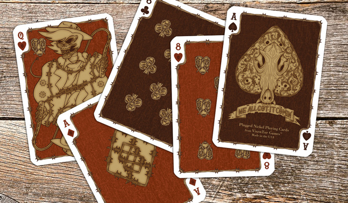 Dead Man's Hand - Rusted Tin