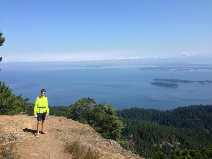 A hike up Mt. Constitution in Washington