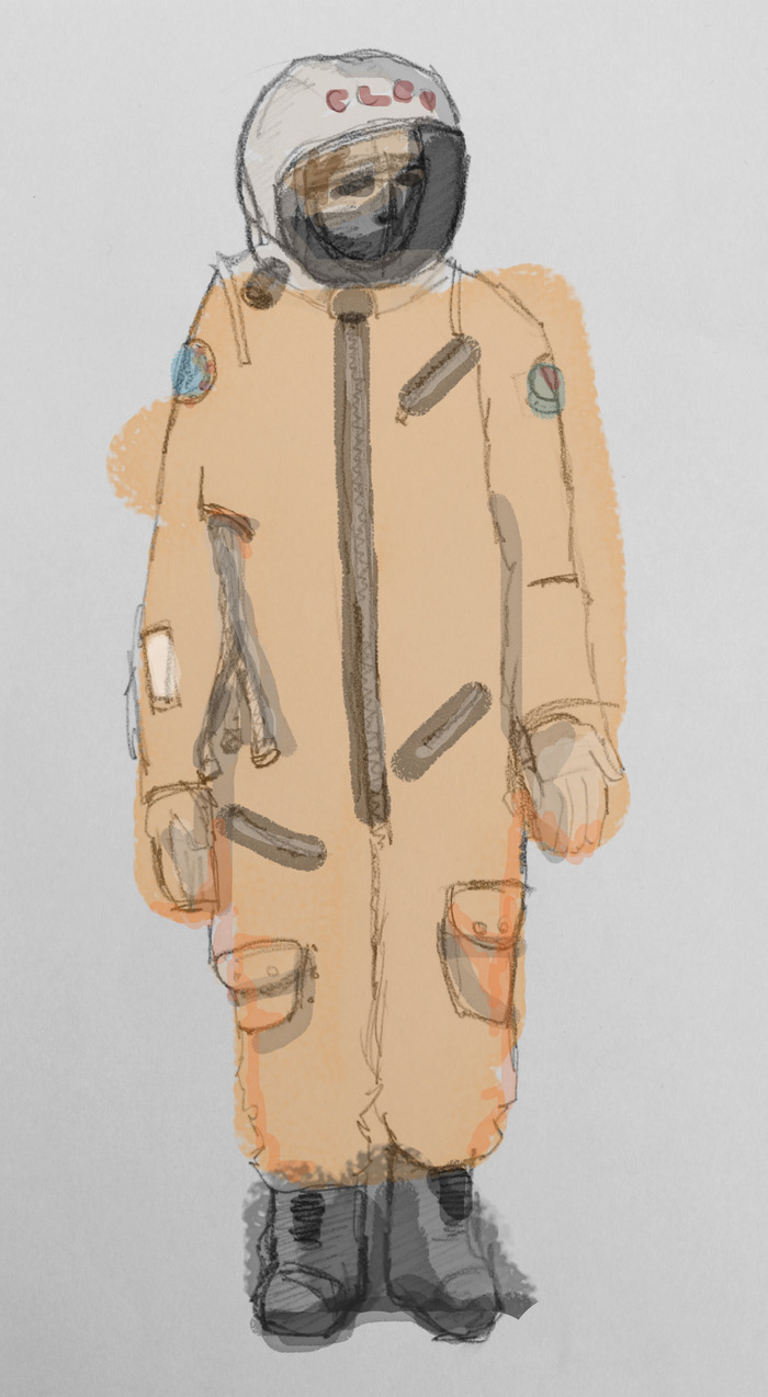 Ivan's Concept Cosmonaut Suit