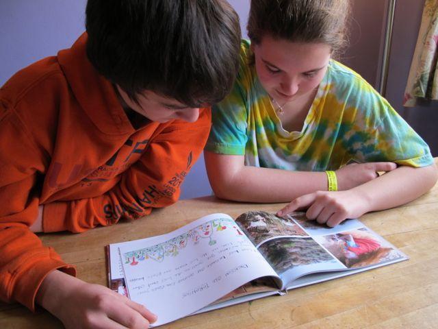 Peers learning from peers: teens in Brooklyn, NY read This Is Ours: Leparua.