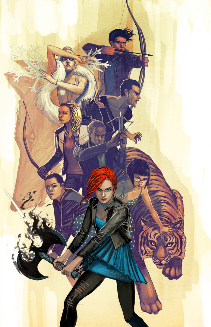 """THE TEAM"" Print by Stephanie Hans"