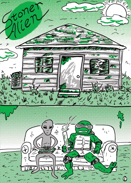 Issue 1: Stoner Alien, click through for preview