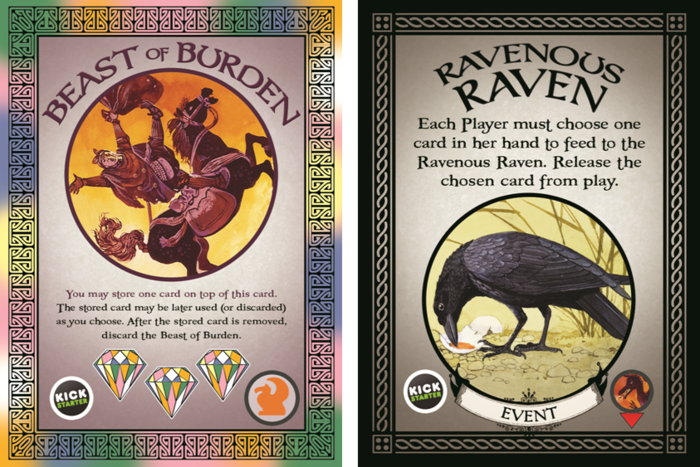 Beast of Burden and Ravenous Raven Add-on #7