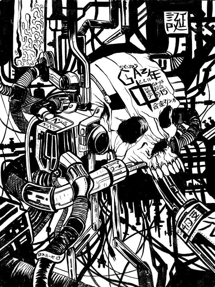 Issue 2 featuring Iron Skull by Skuds Mckinley