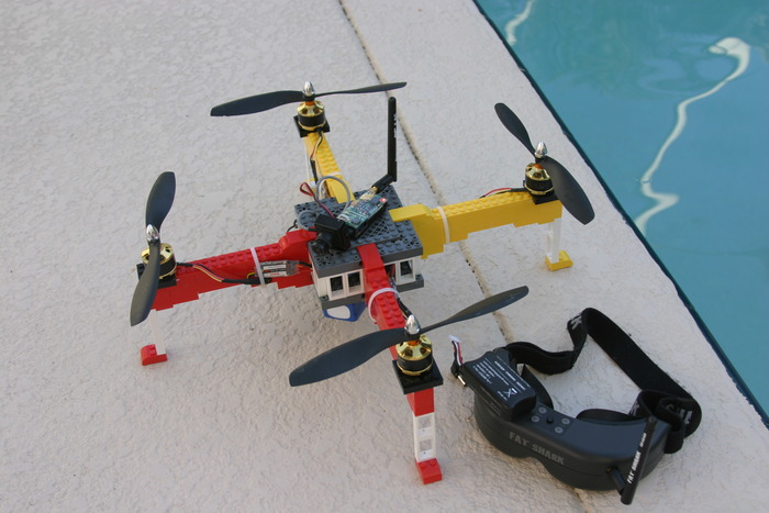 Completed prototype with FPV