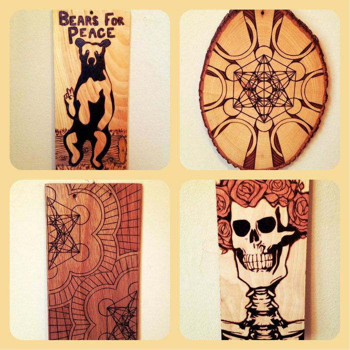 Woodburning Art by Jack Davisson- Previous Whetherman Live Artist