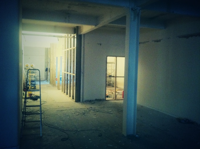Day 10 - the new meeting rooms take shape