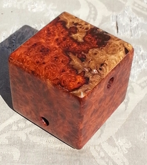 Amboyna Burl Hidden Maze. (Version 1)