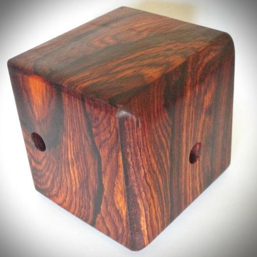 Figured Cocobolo Hidden Maze. (Version 1)