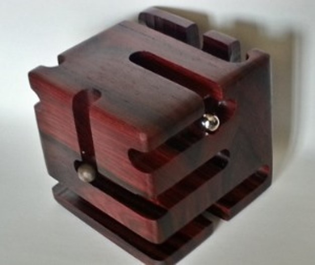 Cocobolo Revealed Maze. (Version 3)