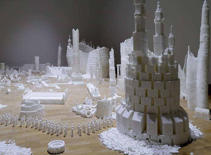 Completed version of Sugar Metropolis in Northern Ireland in November 2013