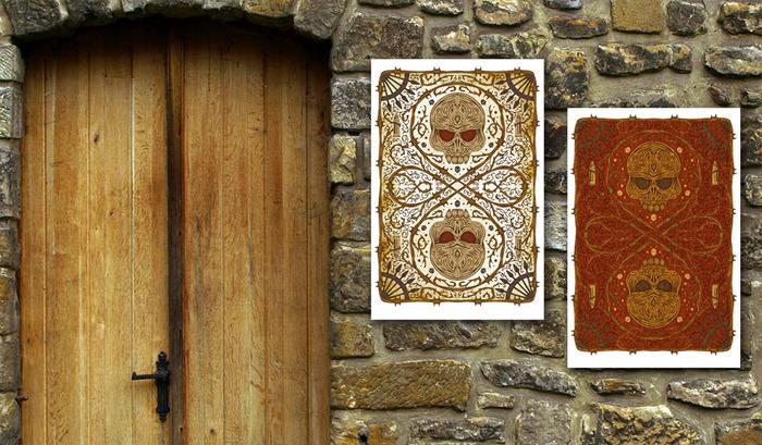Card Back Prints - 20 x 30