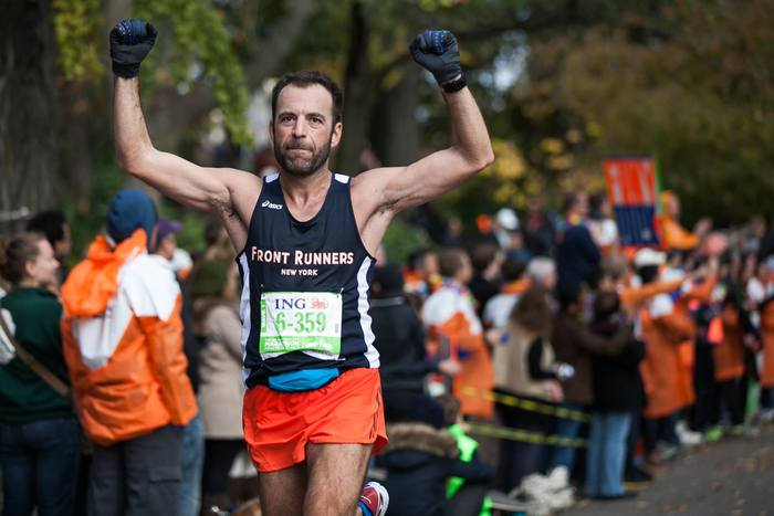 Achievements of everyday LGBT athletes - Cenk Bülbül, New York City Marathon