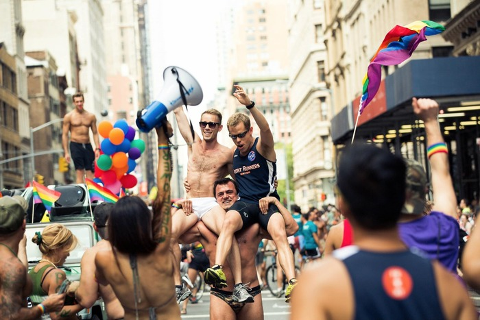 Front Runners at the New York Pride Parade/March in 2012