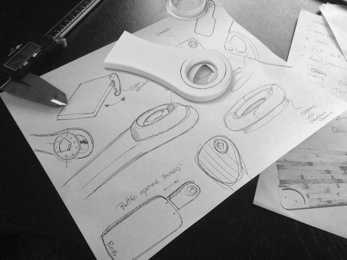 Initial sketches & SLA Prototype