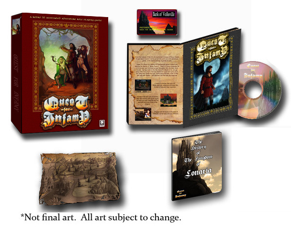 The Classic Big Box Edition! DVD, Instruction Manual w/Map and Bank of Volksville Card