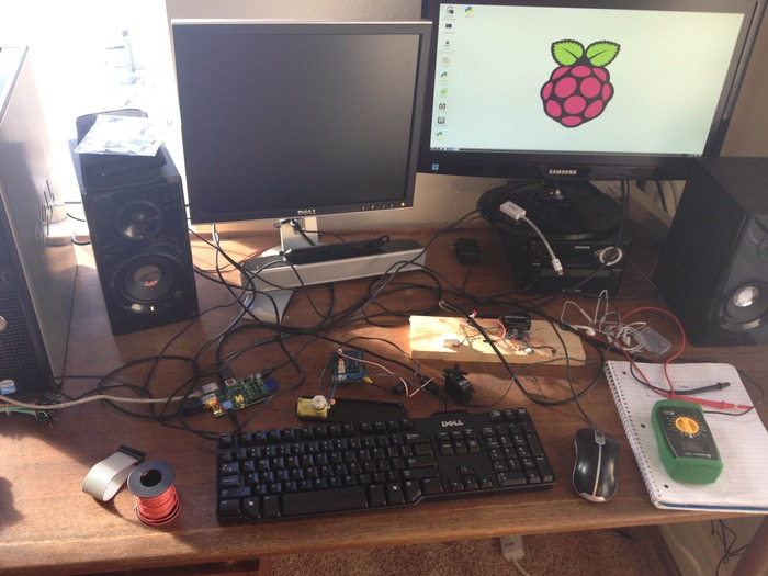 Loading sounds picked by you onto the Raspberry Pi board.