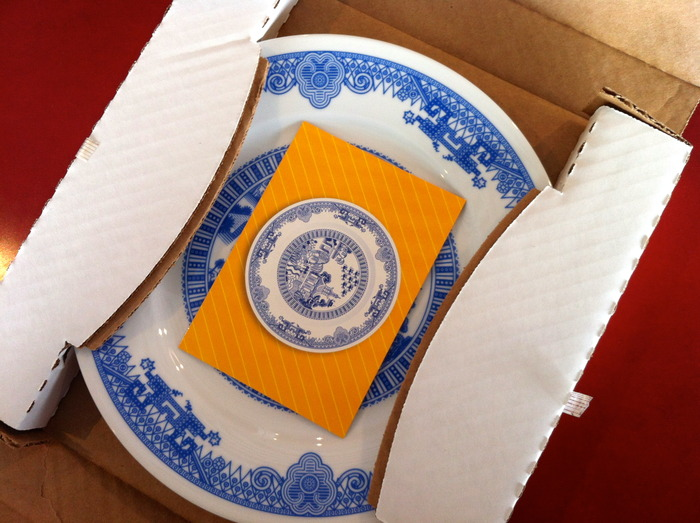 Coming soon: Calamityware Plate 1 in a carton ready to go.