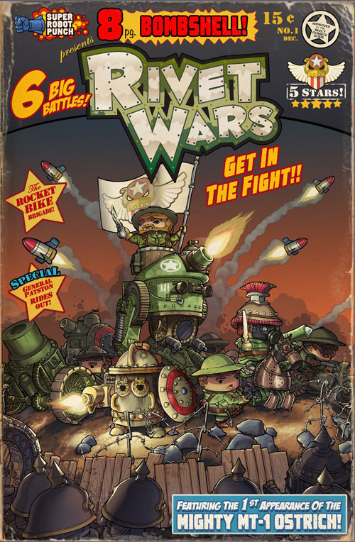 Get Your 300dpi Rivet Wars Art Book Here!