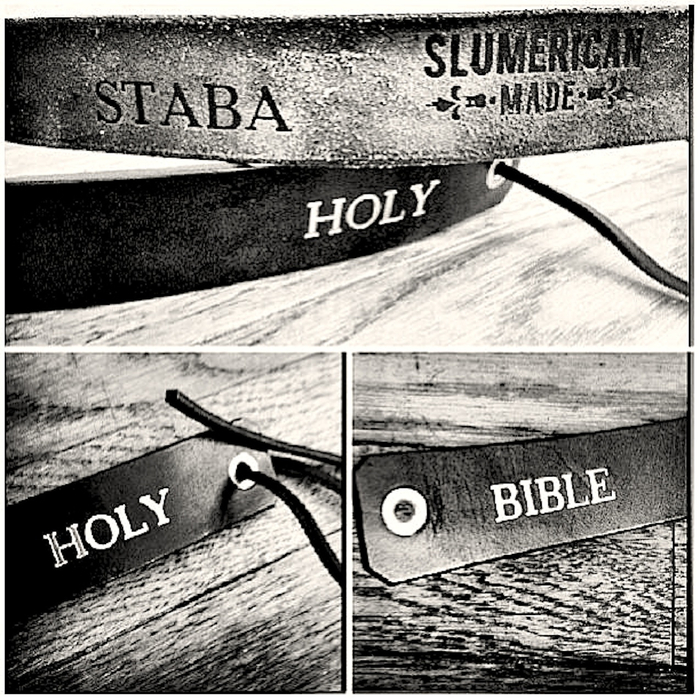 EACH BIBLE BELT IS UNIQUE AND HANDMADE!!
